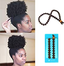 BunzeeBands Adjustable Length Hairband | Long Cushioned Headband Ties for Women with Thick, Braided, Kinky, Curly, Natural Hair | Extra Stretchy, No-Slip Design (Single, Brown)