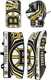 Franklin Sports Team Licensed Street Hockey Goalie Equipment Set - S/M Goalie Pads Catch Glove & Blocker - NHL Official Li...