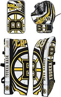 Franklin Sports Team Licensed Street Hockey Goalie Equipment Set - L/XL Goalie Pads Catch Glove & Blocker - NHL Official Licensed Product