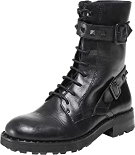 ASH Women's Leather Witch Bis Biker Boots Black
