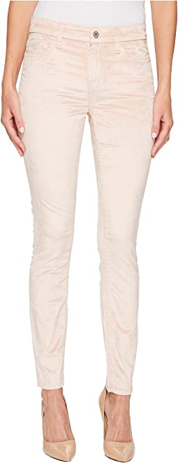 7 For All Mankind - Velvet Ankle Skinny in Blush