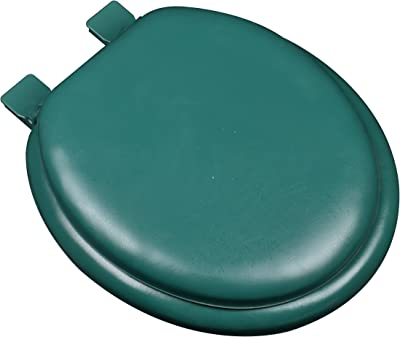Comfort Seats C160602 Premium Plastic Solid Round Closed Front with Cover
