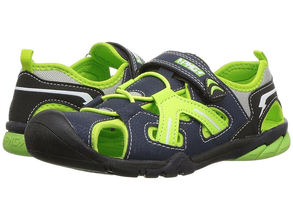 Primigi Kids PAQ 14557 (Toddler/Little Kid/Big Kid) (Navy/Green) Boy