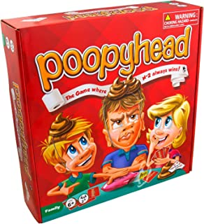 Identity Games Poopyhead Card Game - The Game Where Number 2 Always Wins!