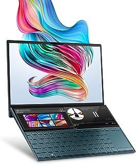 "ASUS ZenBook Duo UX481 Laptop, 14"" FHD NanoEdge Bezel Touch, Intel Core i7-10510U, GeForce MX250, 16GB RAM, 1TB PCIe SSD, ..."