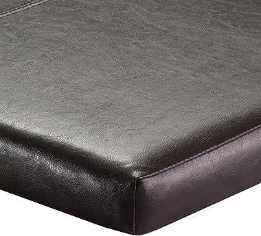 Paige Bench Cushion Seat, Espresso