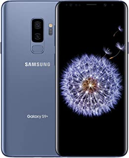 Samsung Galaxy S9+ Factory Unlocked Smartphone 64GB - Coral Blue - US Version [SM-G965UZBAXAA]