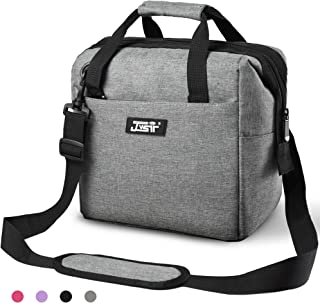Lunch Bag,Lunch Bag for Men Women Kids,Insulated Lunch Bag Leakproof Resuable Lunch Box Large Capacity Wide Open Lunch Bags with Adjustable Shoulder Strap for Office, School, Work, Picnic Hiking Beach