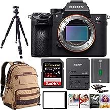Sony Alpha a7RIII Mirrorless Camera w/Vanguard Backpack & 128GB SD Card Bundle