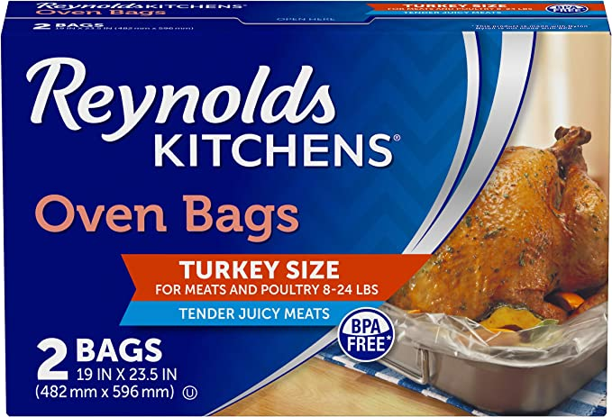 Reynolds Turkey Size Oven Cooking Bags 2 Count Amazon Ca Home Kitchen