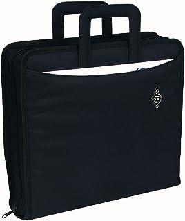 Wedo 058601 Serviette classeur A4 en polyester Noir