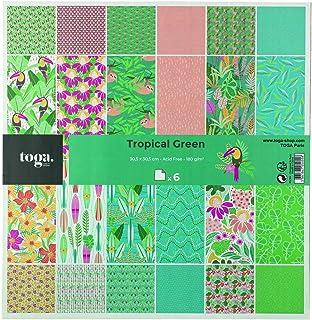 Toga Masking Tapes, Multicolore, OneSize, Set de 4 Pièces