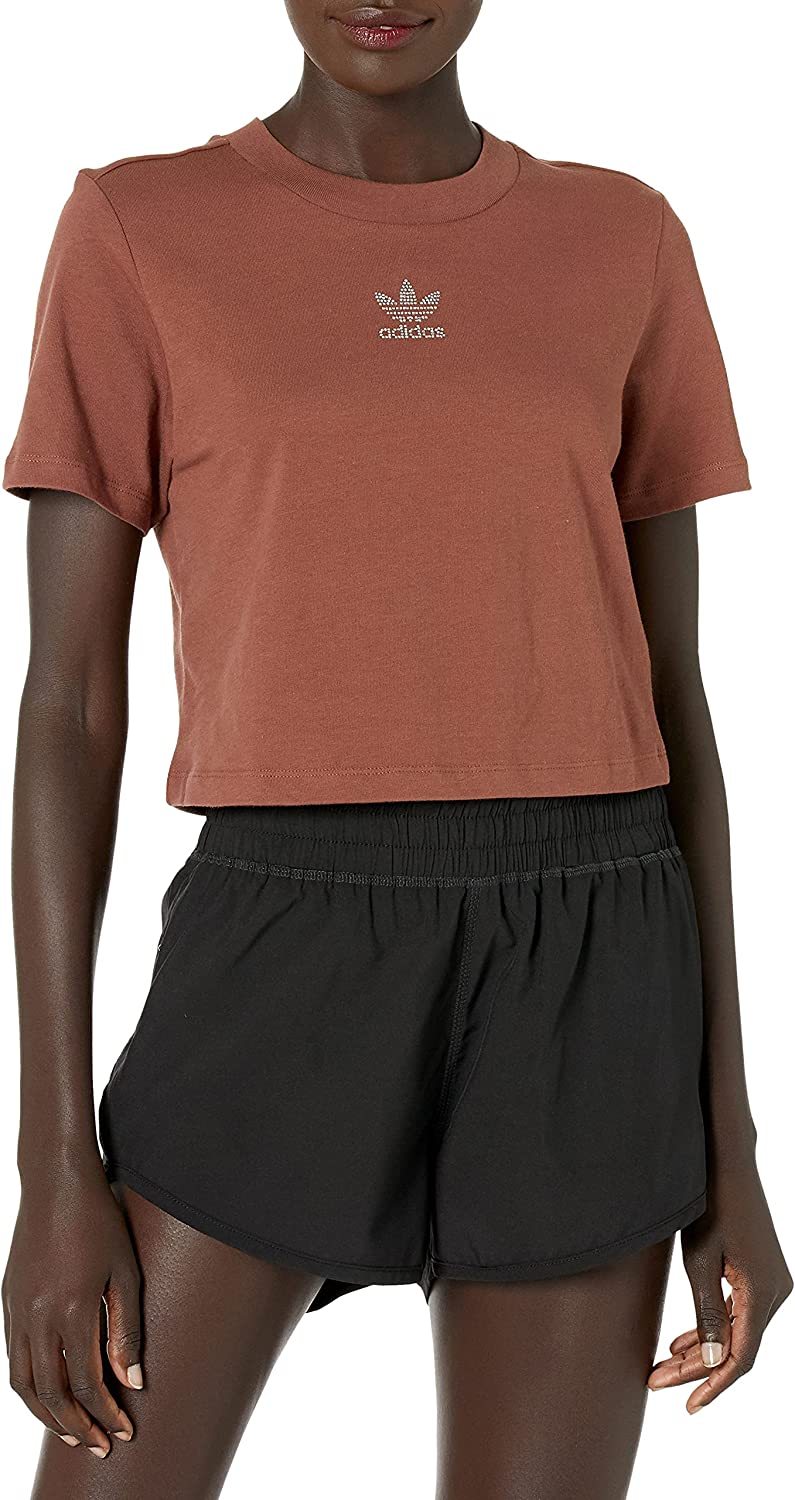 adidas Originals Japan's largest assortment Selling Women's Tee Cropped
