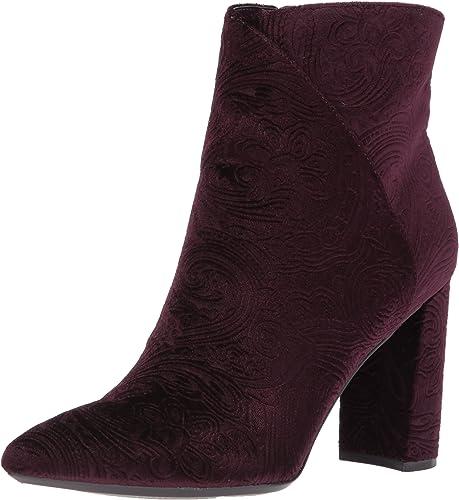 Nine West Wohommes Argyle Ankle démarrage, violet Fabric, 9 Medium US