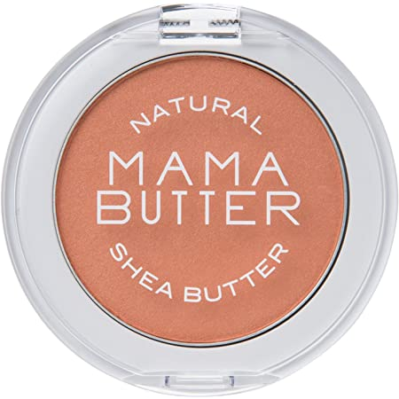 MAMA BUTTER(ママバター) ママバター 無添加 チーク カラー オレンジ 【100% 天然由来色素 敏感肌にも シアバター配合】 5g