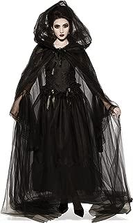 Costume Co. Women's Black Hooded Cape