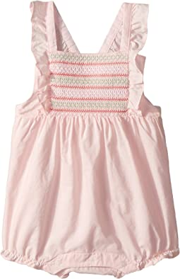 Janie and Jack Smocked Bubble One-Piece (Infant)