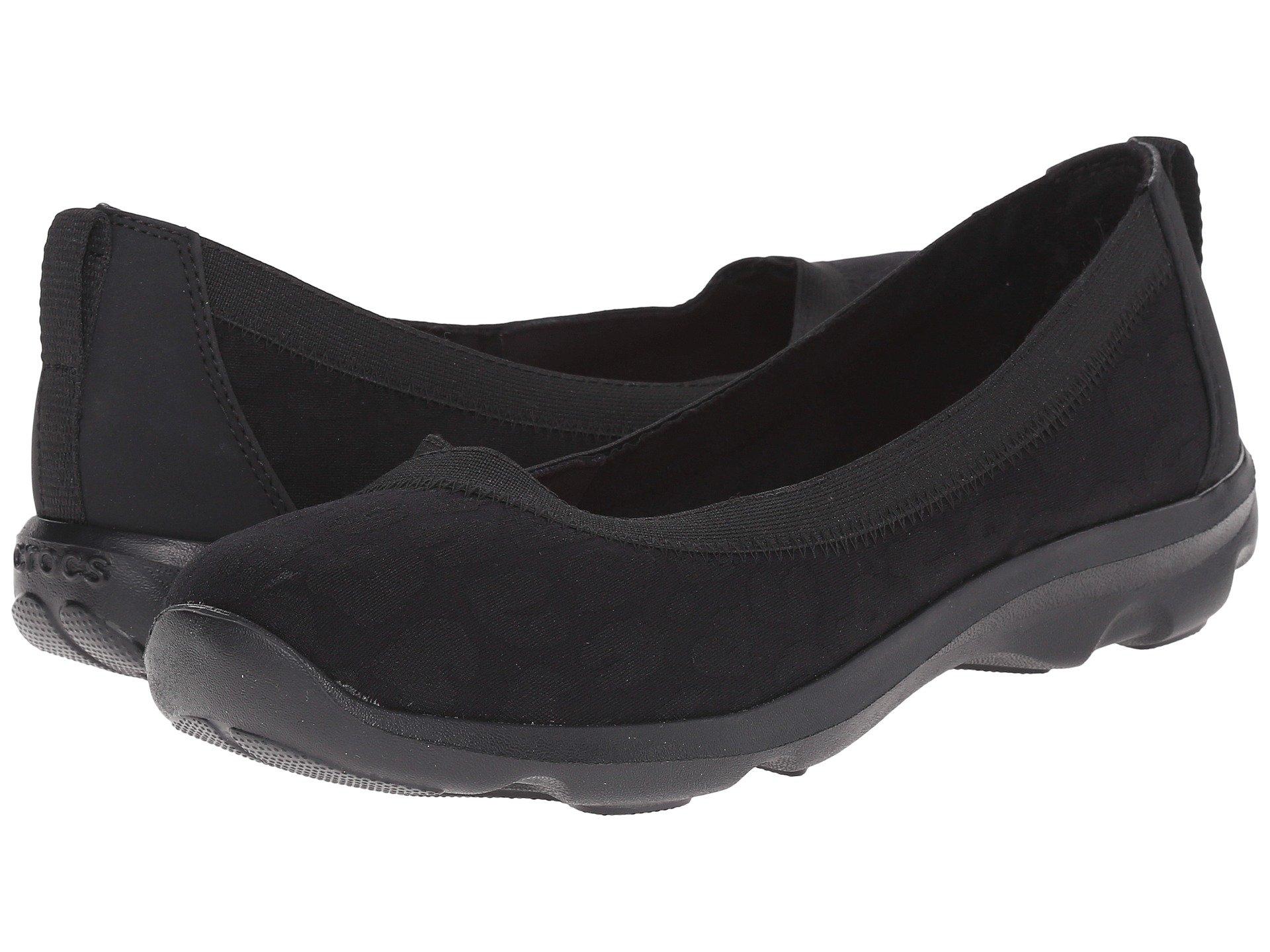 Baletas para Mujer Crocs Busy Day Leopard Flat  + Crocs en VeoyCompro.net