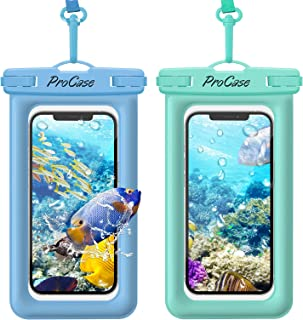 ProCase Floating Waterproof Phone Pouch, Universal Float Underwater Dry Bag Case for iPhone 13 Pro Max/ 12 Pro Max 11 XS X...