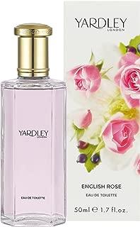 Yardley of London Eau De Toilette Spray for Women, English Rose, 1.7 Ounce