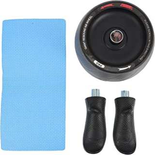Healifty Ab Roller Wheel Abdominal Exercise Kit with Knee Mat Home Gym Equipment for Men Women Core Strength Abdominal Exe...