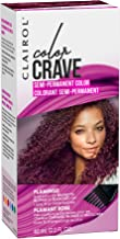 Clairol Color Crave Semi-permanent Hair Color, Flamingo, 1 Count