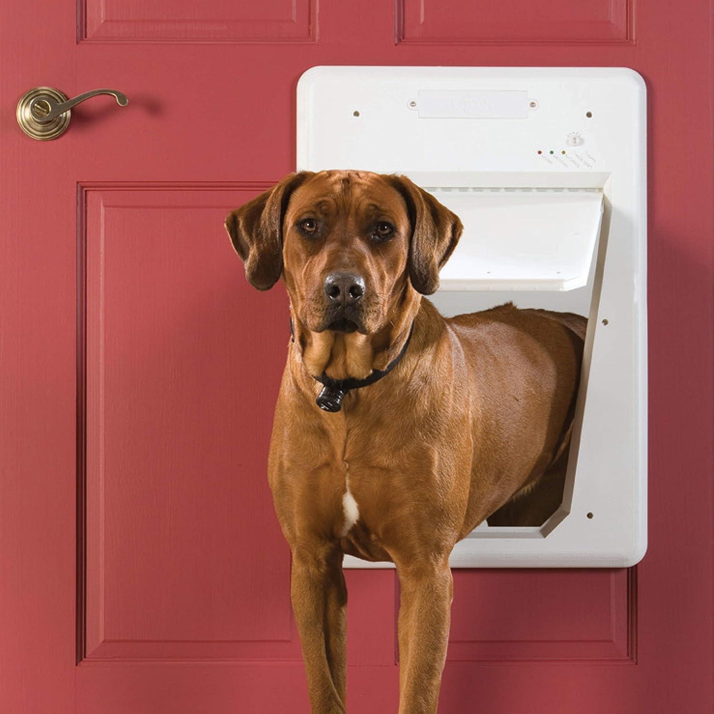 PetSafe Electronic SmartDoor – Collar Activated Dog and Cat Door! 6.95 (REG 9.99) at Amazon!