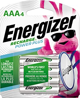 Best top rated aaa rechargeable batteries Reviews