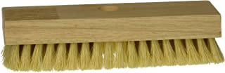 DQB Industries 11643 Dqb Heavy Duty Acid Brush, Tampico Fiber Bristle Trim, Hardwood Handle