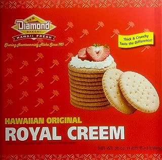 Diamond Bakery Hawaiian Original Crackers 30 Ounce (Royal Creem)