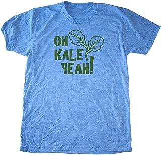Men's Kale Shirt - Oh Kale Yeah ® - Funny Vegan T-Shirt