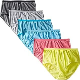 Fruit of the Loom Women's Underwear Beyond Soft Panties (Regular & Plus Size)