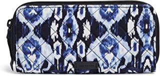 Vera Bradley Women's Signature Cotton Bifold Wallet with RFID Protection