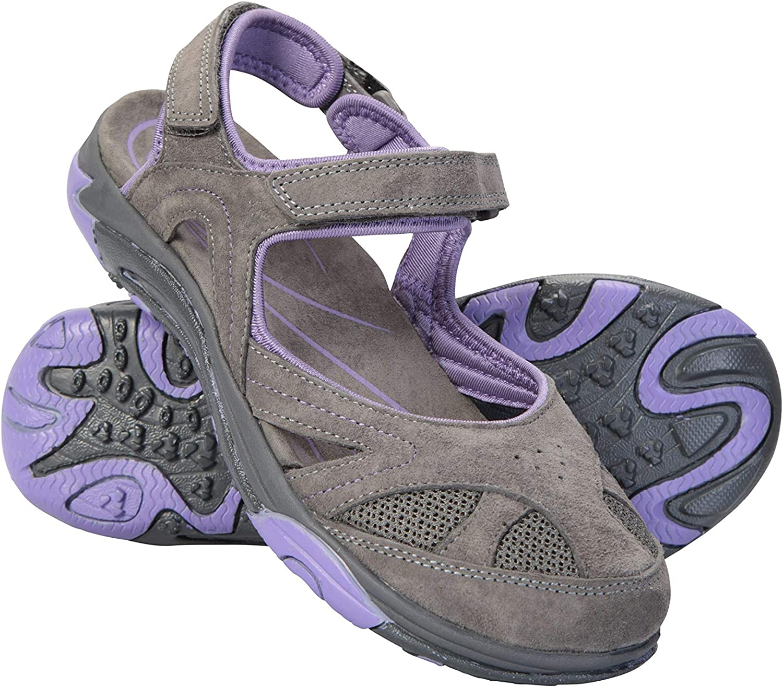 Mountain Warehouse Bournemouth Womens Covered Sandals - for Summer Dark Purple 6 M US Women
