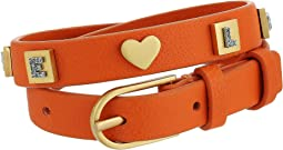 Tory Burch Message Double-Wrap Bracelet