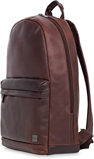 """Knomo London Albion Leather 15"""" Laptop Bags - Brown"""
