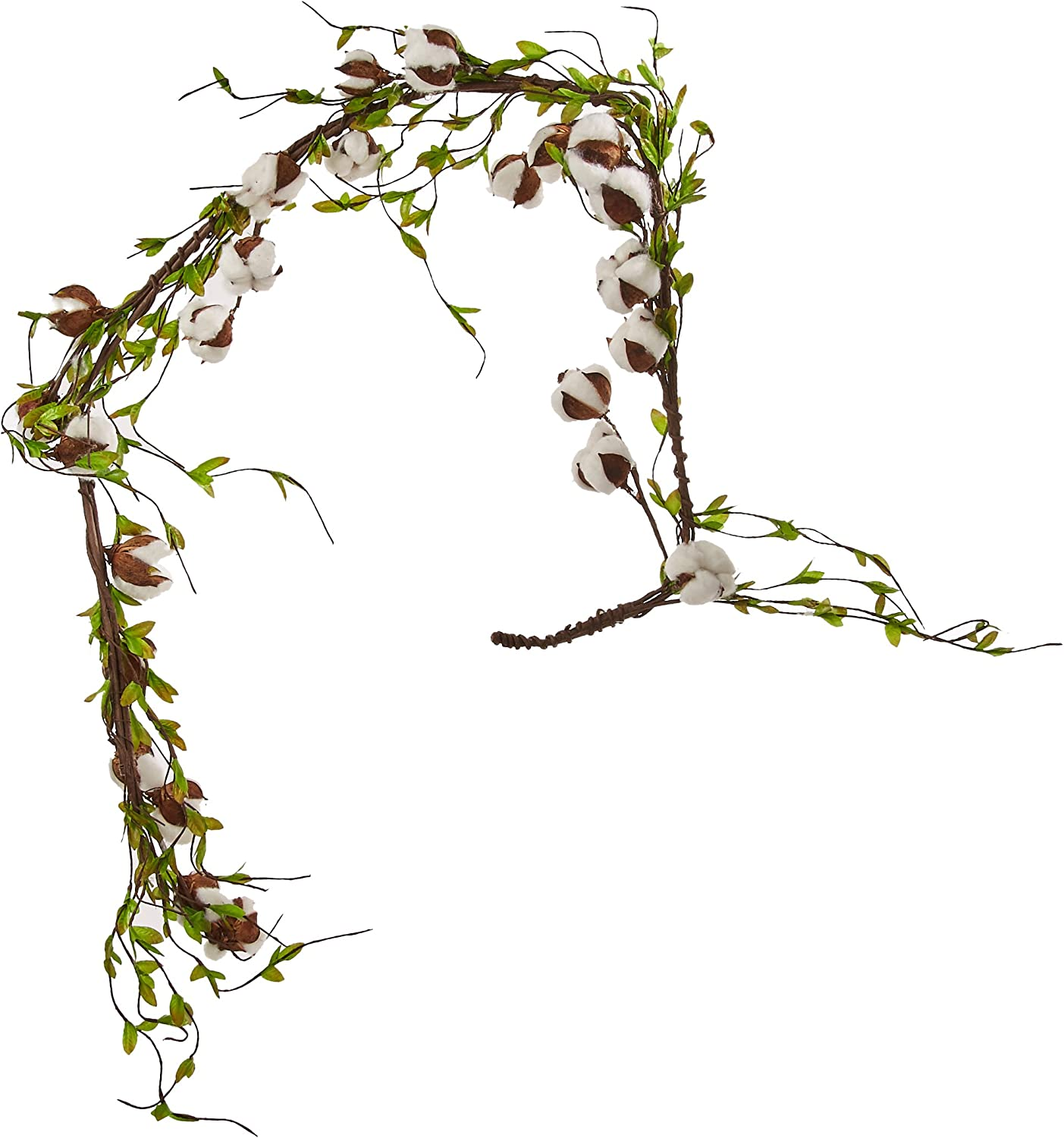 CWI Gifts FISB69031 Superlatite Industry No. 1 Artificial Cotton Garland Leaves M Willow