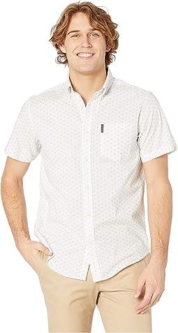 Starburst Print Short Sleeve Shirt