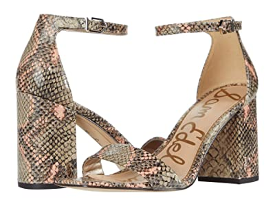Sam Edelman Daniella (Mesa Nude/Peach Multi Exotic Snake Print Leather) Women