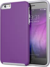 iPhone 6S Plus Case, Crave Dual Guard Protection Series Case for iPhone 6 6s (5.5 Inch) - Purple/Gray