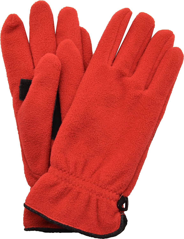Style & Co. Women's Warm Flannel Fleece Gloves One Size Fits most