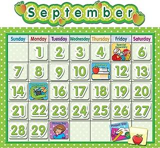 Teacher Created Resources TCR4188 Polka Dot School Calendar Bulletin Board Set, Paper, Multi