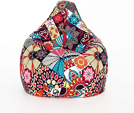 Aart Classic Cotton Canvas Digital Printed Bean Bag Cover XXXL Size Without Beans