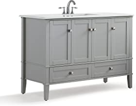 48 vanity countertop with sink