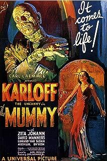 American Gift Services - The Mummy Vintage Boris Karloff Movie Poster - 11x17