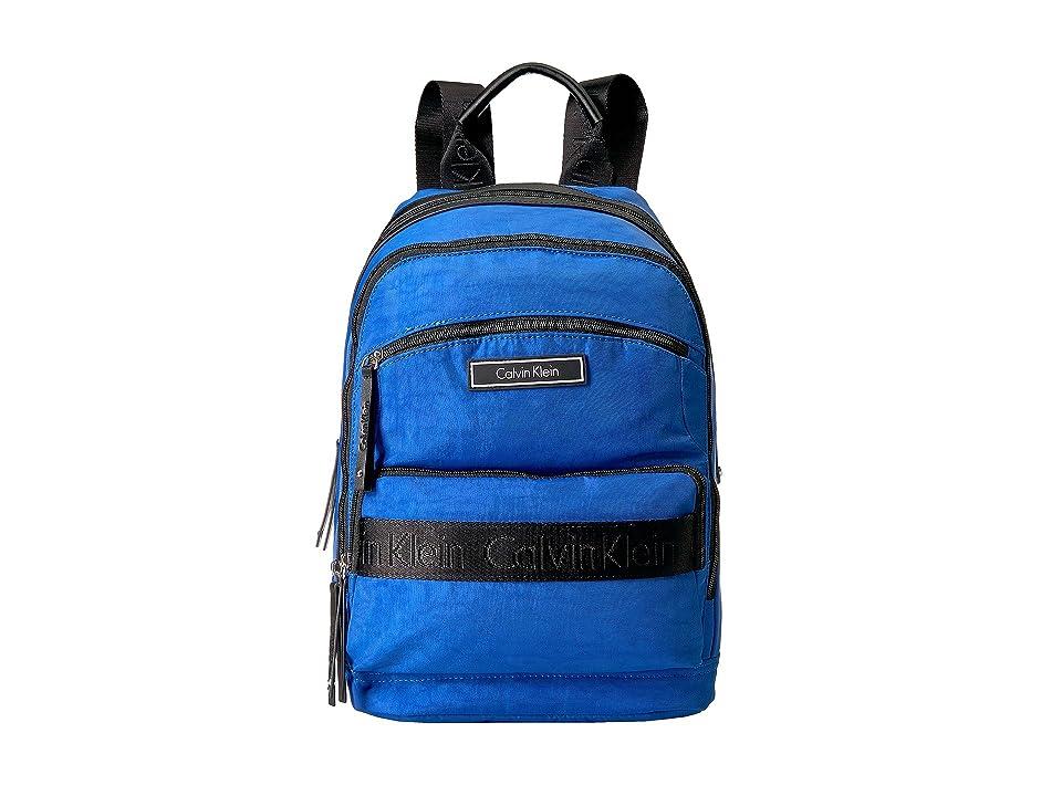 Calvin Klein CKP Distressed Backpack (Cobalt) Backpack Bags