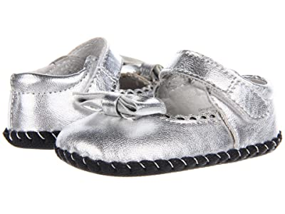 pediped Betty Original (Infant) (Silver) Girls Shoes