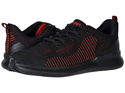 Propet Viator Fuse (Black/Red) Men