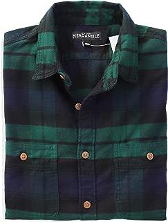 J.Crew Mercantile Men's Slim-Fit Long-Sleeve Plaid Flannel Shirt