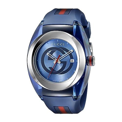 00b35130282 Gucci Stainless Steel WYNC Watch(Model YA137104)